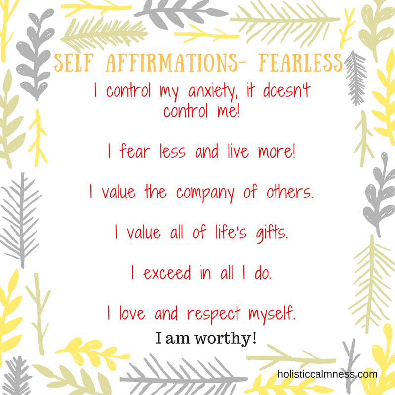 Self Affirmations - Fearless (2)