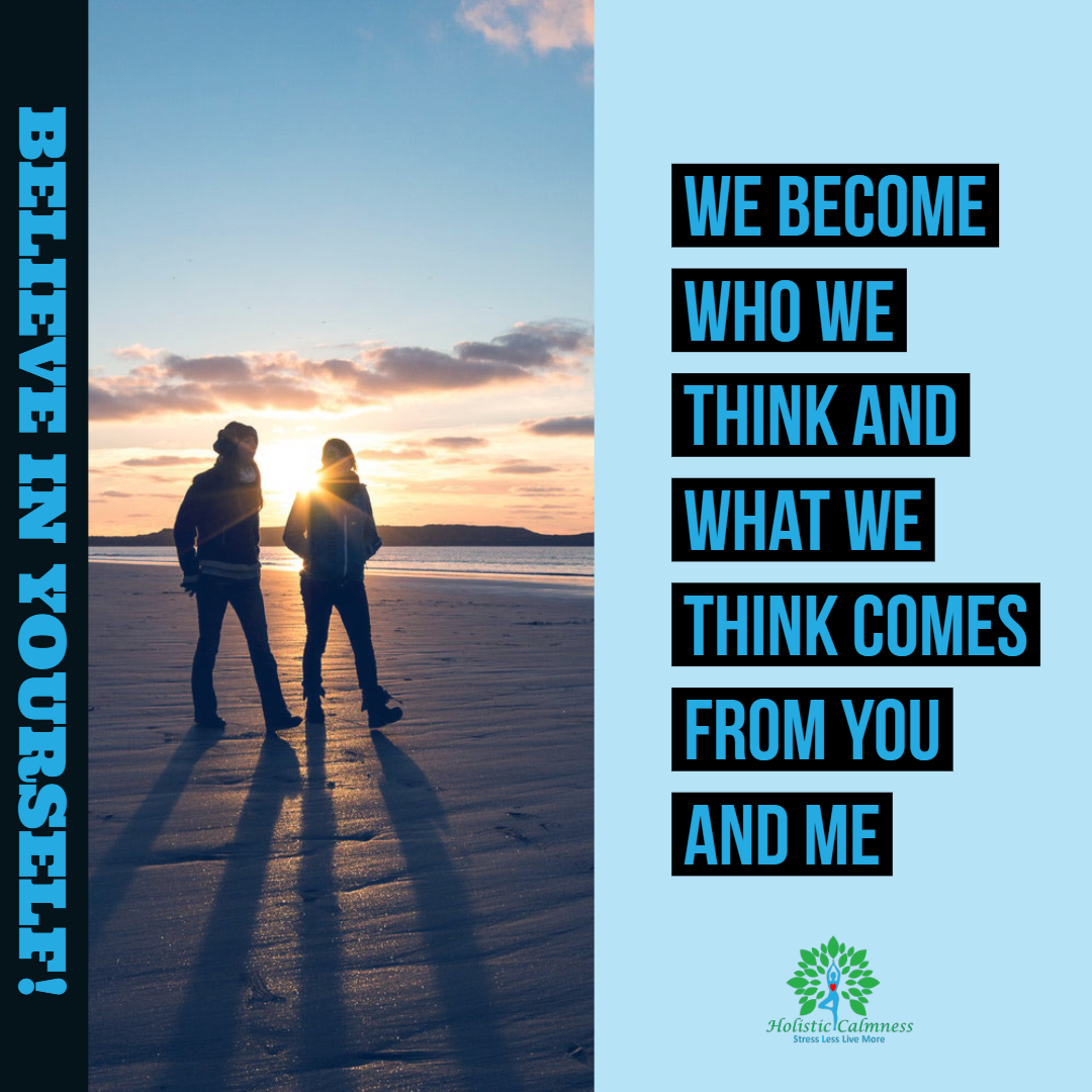 What we think comes from you and me