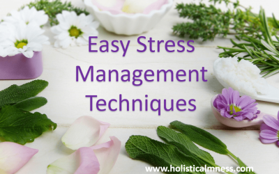 Holistic Therapies to Manage Stress And Bring About Calmness.